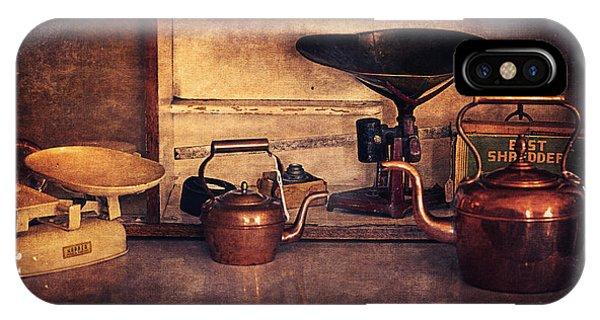 Old Kitchen Utensils IPhone Case