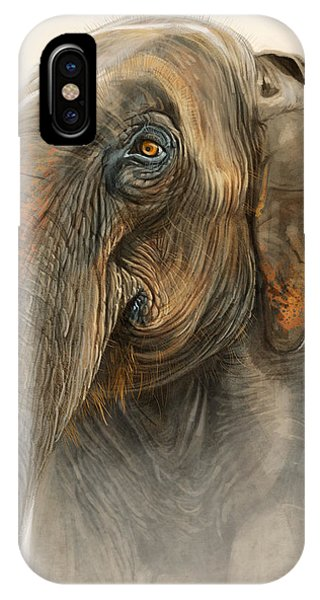 Old Lady Of Nepal 2 IPhone Case