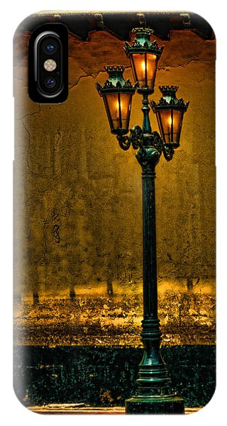 Old Lima Street Lamp IPhone Case