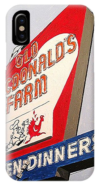 Old Macdonalds Farm Phone Case by Paul Guyer