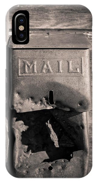 Old Mail Box IPhone Case