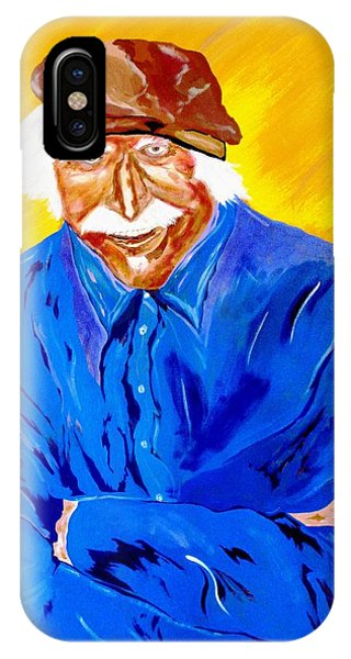 Old Man Hawk-artist Rendition IPhone Case