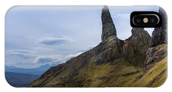 Old Man Of Storr Isle Of Skye IPhone Case