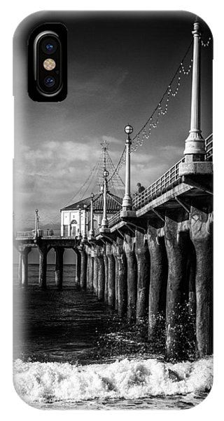 IPhone Case featuring the photograph Old Manhattan Pier by Michael Hope