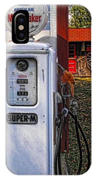 Old Marathon Gas Pump IPhone Case