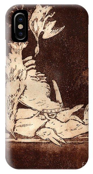 Old Masters Still Life - With Great Bittern Duck Rabbit - Nature Morte - Natura Morta - Still Life IPhone Case