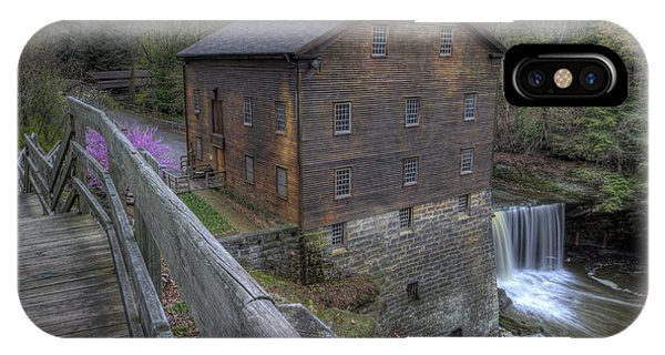 Old Mill Of Idora Park IPhone Case