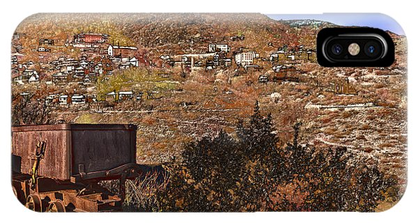 Old Mining Town No.24 IPhone Case