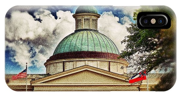 Old Mississippi Capitol Building IPhone Case