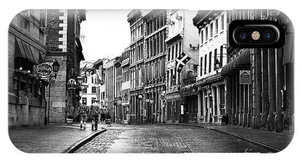 Old Montreal Streets IPhone Case