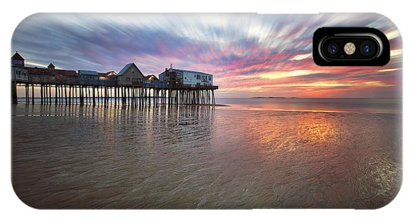 Orchard Beach iPhone Case - Old Orchard Daybreak by Eric Gendron