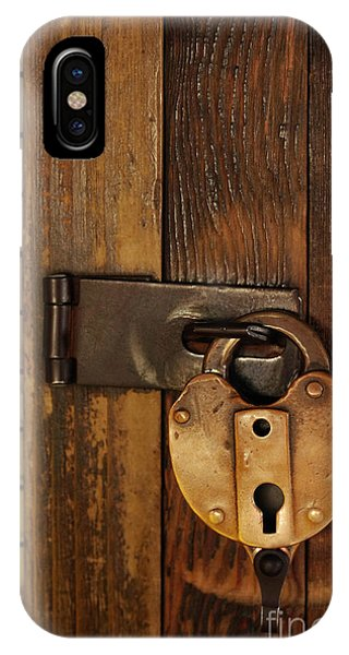 Oxidized iPhone Case - Old Padlock by Carlos Caetano