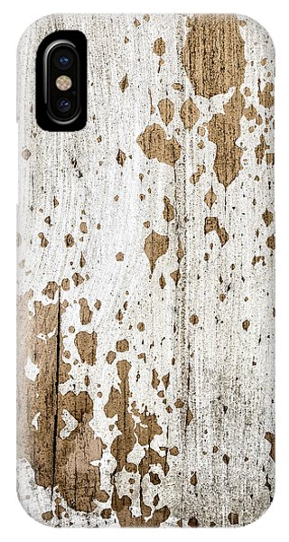 Old Painted Wood Abstract No.3 IPhone Case
