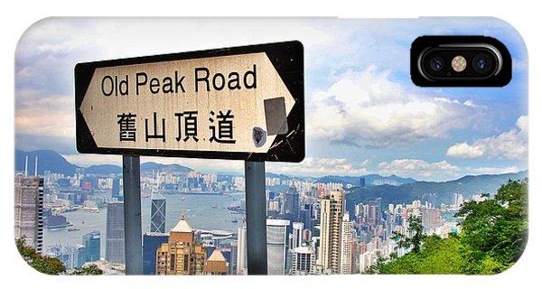 Old Peak Road  IPhone Case