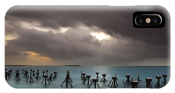 Old Pier In The Florida Keys IPhone Case