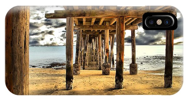 Old Pillar Point Pier IPhone Case