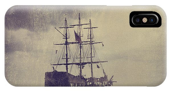 Old Pirate Ship Phone Case by Jelena Jovanovic