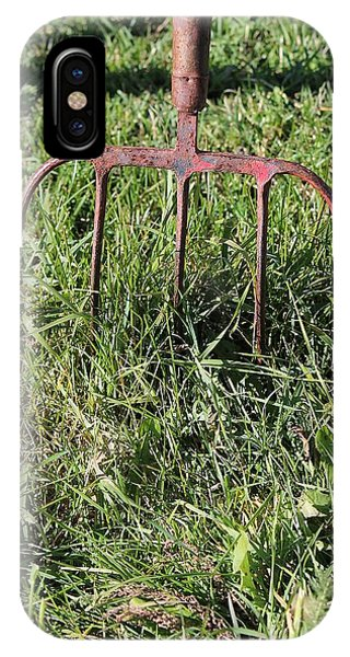 Old Pitch Fork IPhone Case