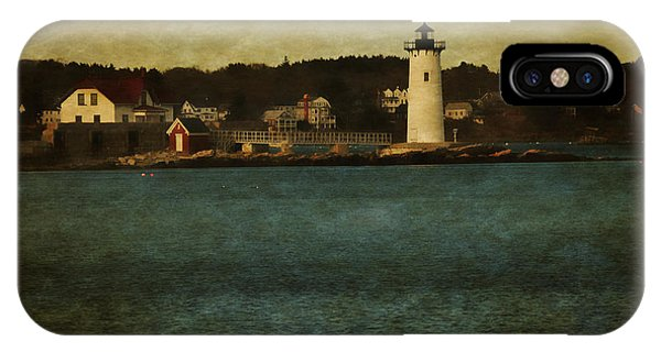 Old Portsmouth Lighthouse IPhone Case