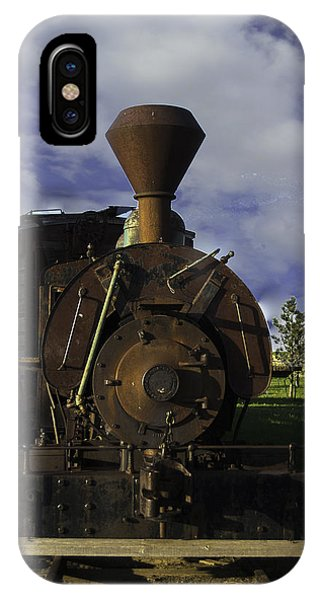 IPhone Case featuring the photograph Old Prairie Train by Judy Hall-Folde