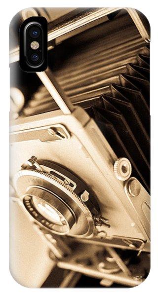 Fielding iPhone Case - Old Press Camera by Edward Fielding