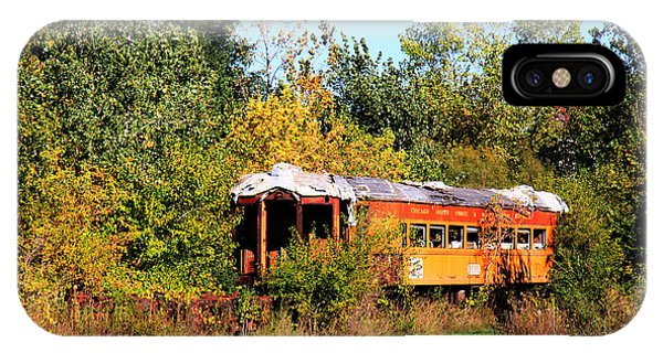 Old Rail Car IPhone Case