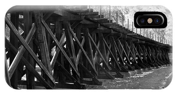 Old Rail Trestle IPhone Case