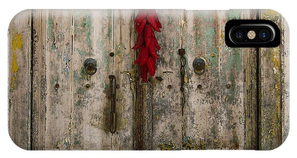 Old Ristra Door IPhone Case