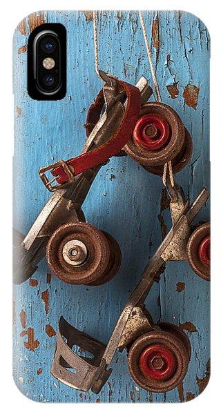 Old Roller Skates IPhone Case