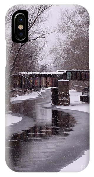 The Nifti Railroad Bridge IPhone Case