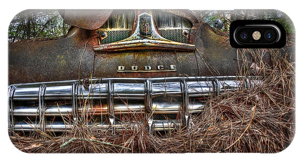 Old Rusty Dodge IPhone Case