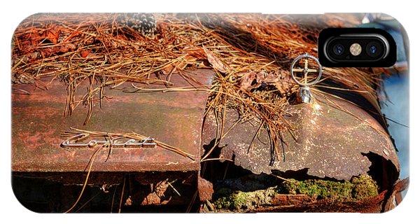 Old Rusty Mercury Comet IPhone Case