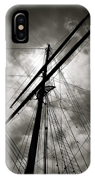 Old Sailing Ship IPhone Case