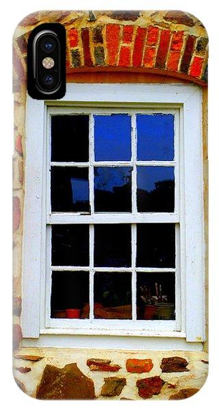 Old Salem Window Twelve IPhone Case