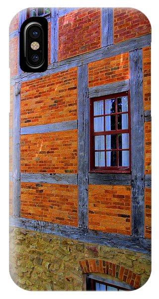 Old Salem Windows 29 IPhone Case