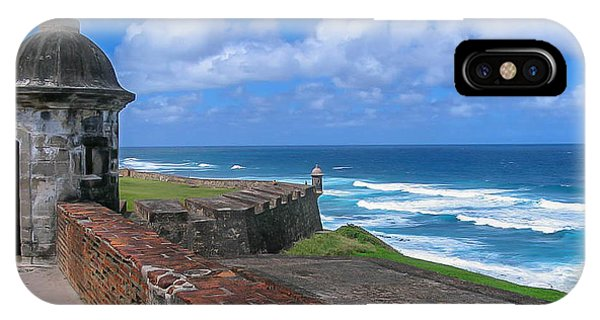 Old San Juan Puerto Rico  IPhone Case