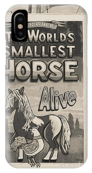 Alive iPhone Case - Old Sideshow Poster by Edward Fielding