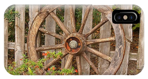 Old Spare Wheel IPhone Case
