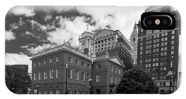 Old State House 15568b IPhone Case