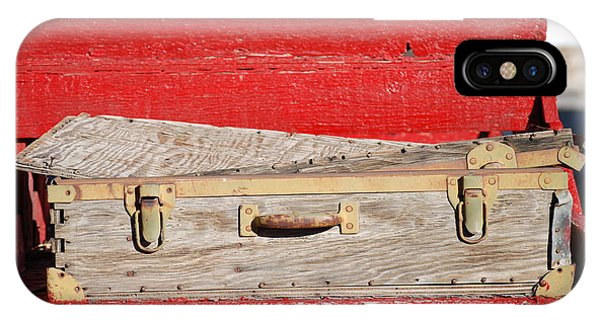 Old Suitcase Phone Case by Pamela Schreckengost