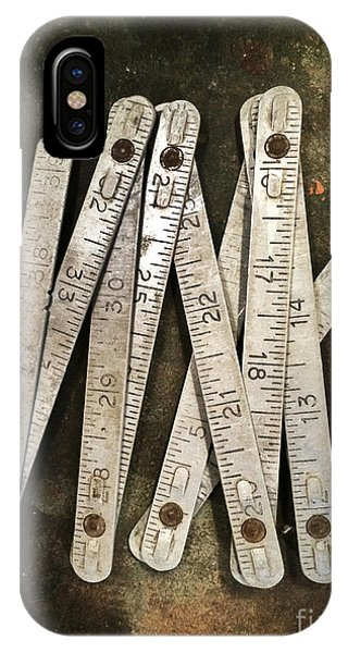 Old Tape-measure IPhone Case
