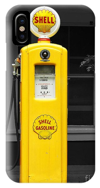 Old Time Gas Pump IPhone Case