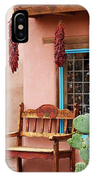 Old Town Albuquerque Shop Window IPhone Case
