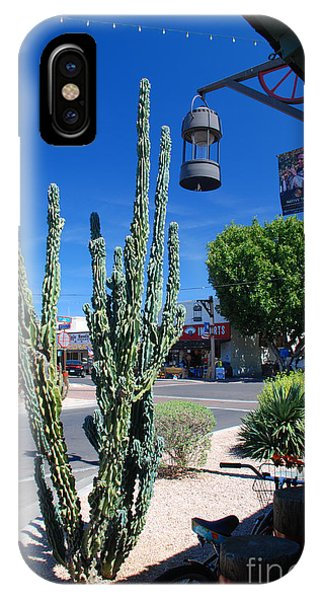 Old Town Cactus IPhone Case