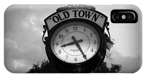 Old Town Clock IPhone Case