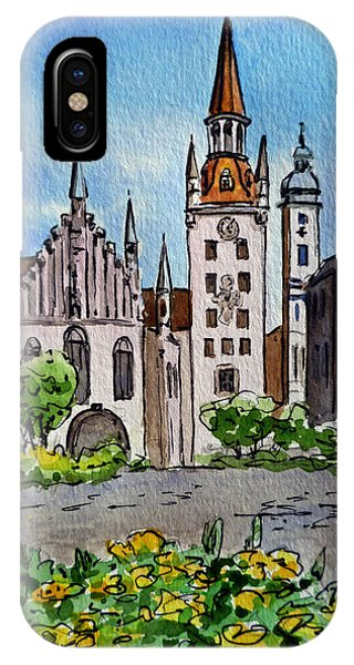 Old Town Hall Munich Germany IPhone Case