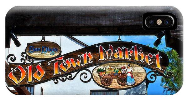 Old Town Market- San Diego IPhone Case