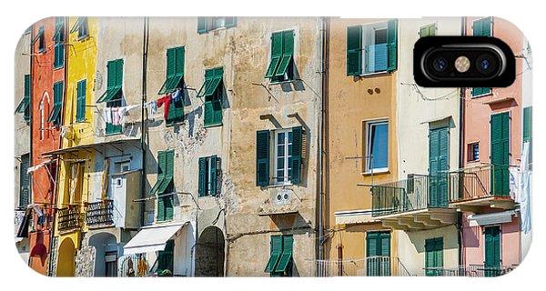 Old Town Portovenere IPhone Case
