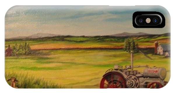 Old Tractor Phone Case by Kendra Sorum