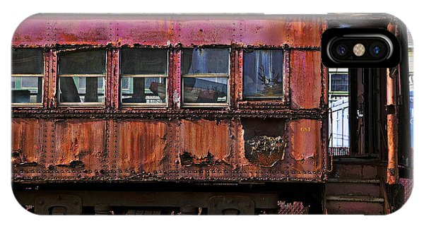 Passenger Train iPhone Case - Old Train Car by Garry Gay